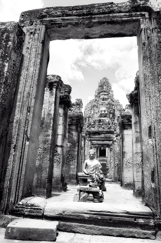 Link to image of Bayon Gopura, Siem Reap