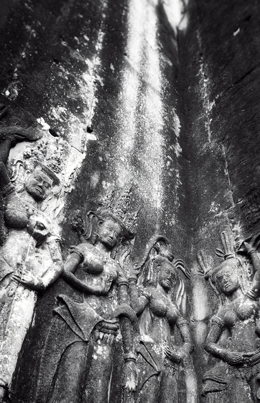Link to image of Cosmic Quartet, Angkor Wat, Siem Reap