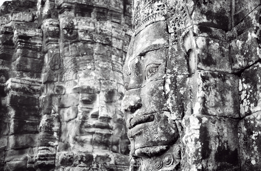 Link to image of Gazing, Bayon, Siem Reap
